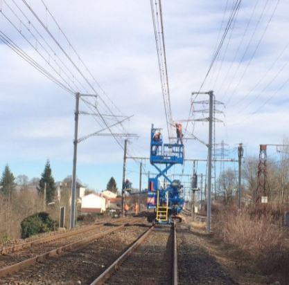 Confection des accessoires HTA dans le secteur industriel / SNCF